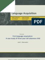 Language Acquisation