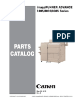 CANON imageRUNNER ADVANCE 8085, 8095, 8105 Series Parts List.pdf