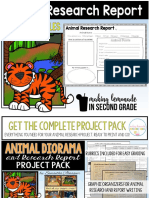 Animal Research Report Prin Tables
