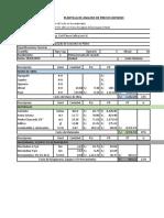 Presupuesto de Pilote Perforado