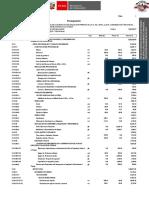 Presupuesto de Instalaciones de Comunicacion