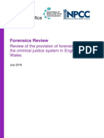 Uk Ho Forensic Science Review 7 18