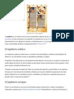 Lapidario - Wikipedia, La Enciclopedia Libre