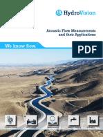HydroVision Brochure Acoustic Flow Measurement e 2018