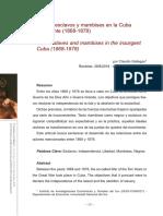 Negros esclavos y mambises en la Cuba insurgente (1868-1878)