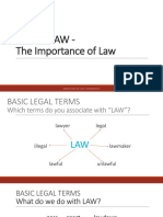 Unit 2 . About Law