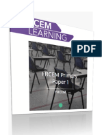 Rcem Learning FRCEM PRIMARY Paper 1