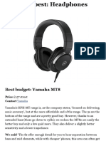 Six of the Best Headphones Every Music Producer Needs