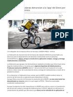 20minutos.es-las Farmacias Catalanas Denuncian a La App de Glovo Por Vender Medicamentos