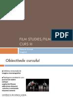 Film Studies. CURS III