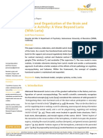 Functional Organization of the Brain and Psychic Activity