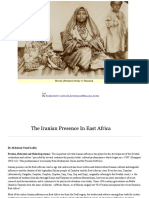 Iranian or Persian influences on the East