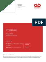 Adpedia Proposal Website Maintanance