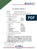 Wettex Ficha Tecnica