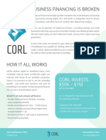 Corl Investment Process