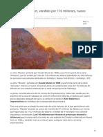 20minutos.es-meules de Monet Vendido Por 110 Millones Nuevo Récord Del Pintor