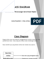 CLASS DIAGRAM Analisis Dan Perancangan b