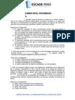 EXAMEN CERTIFICACIÓN OSCE. Doc Luis Isuhuaylas Castillo..docx