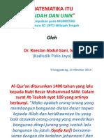 Bahan Presentasi Guru-guru Sd