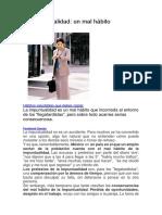 La impuntualidad trabajo de  fundamentos.docx