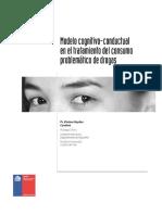 Modelo Cognitivo-conductual en El Tratamiento Del Consumo Problemático de Drogas