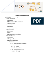 Guia Didáctica Datos e Identidades Primitivas
