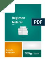 1-4 Régimen Federal