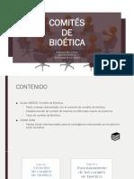 Comites Bioetico Clínicos Asistenciales