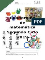 Cuadernillo de Matemàtica Ejercicios 5º