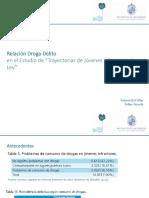 Trayectorias Delictuales Relación Droga - Delito