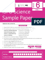 401504229 ISFO Sample Paper Science 6