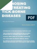 Diagnosing and Treating Tick-Borne Diseases