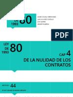cap 6,5,4 LEY 80 DE 1993