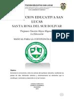 Manual de convivencia 2019 SAN LUCAS ULTIMA VERSION..pdf