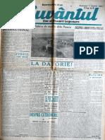 Cuvantul anul XVIII (serie noua) nr. 80, 5 ianuarie 1941