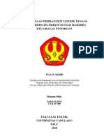 an Pembangkit Listrik Tenaga Mikro Hidro (PLTMH) Pinembani Donggala
