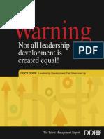 Leadershipdevelopment Br Ddi