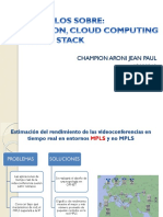 Papers Mpls, Sdn, Cloud Computing y Openstack