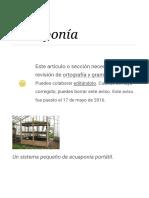 Acuaponía - Wikipedia, La Enciclopedia Libre