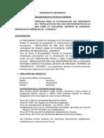 TDR -EXP Losa Dportiva.