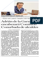 16-05-19 Adrián de la Garza encabezará Comisión Conurbada de alcaldes