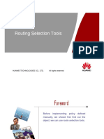 3.4 ODC112032 Route Selection Tools ISSUE1.00-JR