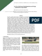 Test Rig Landing Gear Free-Fall System Model Simulation and Design Optimization Using Matla