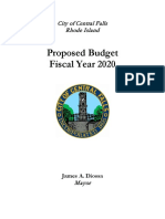 FY20 Proposed Budget