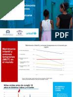 Situación del matrimonio infantil y las uniones tempranas en la República Dominicana