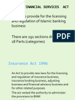 Chap 7 - IBA, Ins,Takaful, AntiML and DFI Acts