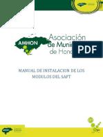 Instalacion de Los Modulos Del Saft AMHON