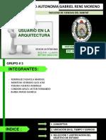 Usuario en La Arquitectura HISTORIA V