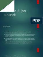 Module 2- Job Analysis(1)