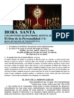 HORA SANTA Con San Pedro Julián Eymard. El Don de La Personalidad (71)
